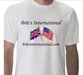 Brits International White T-Shirt